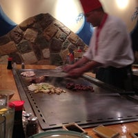 Photo taken at Kobe Japanese Steakhouse and Sushi Bar by Dottie F. on 9/18/2012
