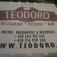Photo taken at Restaurace TEODORO by pippo s. on 10/3/2012