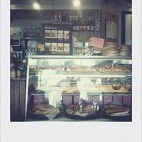 Photo taken at Le Croissant Cafe by Natalie V. on 10/8/2012