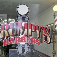 Photo taken at Grumpy's Barbers by Lindy N. on 11/23/2013