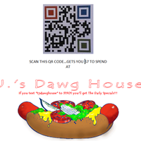 Photo taken at T.J.'s Dawg House by T.J. C. on 6/9/2013