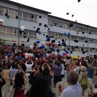 Photo taken at Çankaya Anadolu Lisesi by Irem A. on 5/29/2013