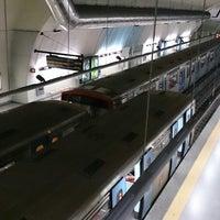 Photo taken at Metro São Sebastião [AZ,VM] by Nic G. on 8/10/2013