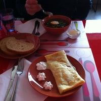 Photo taken at Cafe Eden by Maija T. on 3/12/2014