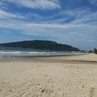 Photo taken at Costão da Praia do Santinho by Joaquim C. on 4/29/2013