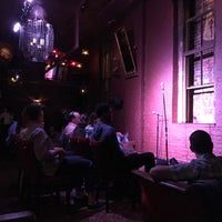 Photo taken at Comedy Cellar at The Village Underground by Dylan S. on 10/2/2017