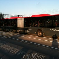 Photo taken at Busstation Hoofddorp by Richard E. on 10/14/2011