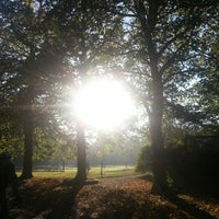 Photo taken at Calderstones Park by Lee A. on 10/21/2012