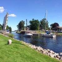 Photo taken at Göta kanal Karlsborg by Ove J. on 8/1/2013