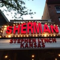 Photo taken at Sherman Theater by Amanda S. on 5/18/2013