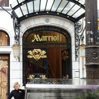 Photo taken at Paris Marriott Champs-Élysées Hotel by Dalal H. on 8/25/2014