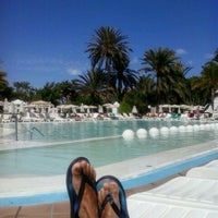 Photo taken at Maspalomas Oasis, RIU Gran Palace by Patricio N. on 10/16/2013