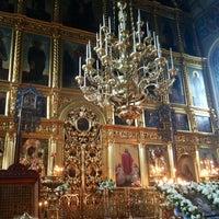 Photo taken at Храм Святителя Николая в Хамовниках by Slavyana P. on 9/22/2013