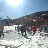 Photo taken at North Peak Lodge by Eric V. on 2/10/2013