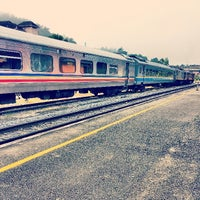 Photo taken at KTM Dabong Railway Station (Stesen Keretapi) by Nash R. on 1/30/2014