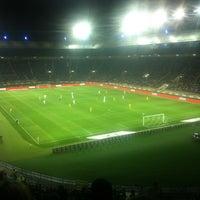 Photo taken at Metalist Stadium by Анжела А. on 9/15/2012
