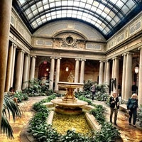 Photo taken at The Frick Garden Court by Carlos M. on 4/23/2016