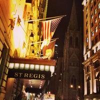 2/7/2013にCarlos M.がThe St. Regis New Yorkで撮った写真