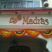 Photo taken at Café Madras by Madan S. on 10/24/2012