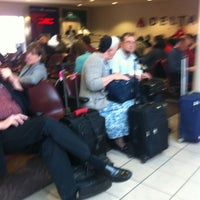 Photo taken at Concourse C by Mitchel G. on 2/11/2013