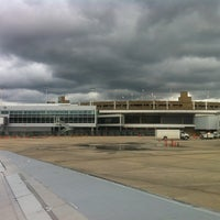 Photo taken at Birmingham-Shuttlesworth International Airport (BHM) by Mitchel G. on 2/13/2013