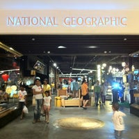 Photo taken at The National Geographic Singapore Store Café by Mk P. on 3/16/2013
