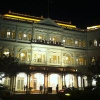 Photo taken at Raffles Hotel by Mk P. on 5/18/2013