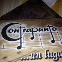 Photo taken at Contrapunto by César S. on 12/30/2012