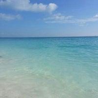 Foto tomada en Playa Chac Mool por Rafa H. el 7/11/2013
