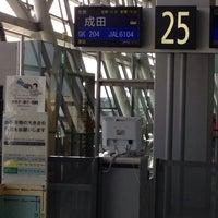 Photo taken at KIX Gate 25 関西国際空港 25番ゲート by Alan T. on 2/20/2014