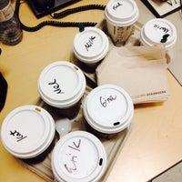 Photo taken at Starbucks by Erik R. on 10/11/2015