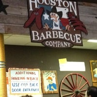 Photo taken at Houston Barbecue Company by dada D. on 2/27/2013