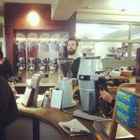 Photo taken at Allpress Espresso Bar by Alper Ç. on 10/27/2013
