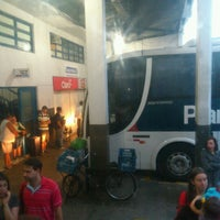 Photo taken at Estação Rodoviária de Rio Grande by Iara L. on 2/9/2013