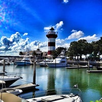 Photo taken at Harbour Town Lighthouse by Chad B. on 9/17/2012