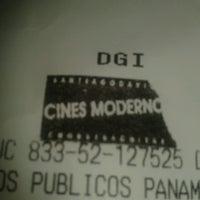 Photo taken at Cines Modernos by Anilu S. on 6/25/2013