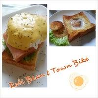 Photo taken at Roti Bean & Town Bike by E-lin O. on 11/7/2013