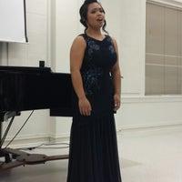 Photo taken at TWU - MUS (Music Building) by Sophia M. on 4/23/2014