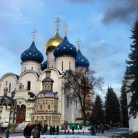 Photo taken at The Holy Trinity-St. Sergius Lavra by Alex S. on 10/27/2012