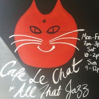 Photo taken at Cafe le Chat & All That Jazz by Kat on 9/28/2013