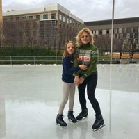 Photo taken at Kendall Square Community Ice Skating by Olexy S. on 12/24/2015
