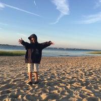Photo taken at Millway Beach by Olexy S. on 8/10/2015