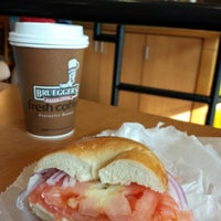 Photo taken at Bruegger's Bagels by Olexy S. on 8/31/2013