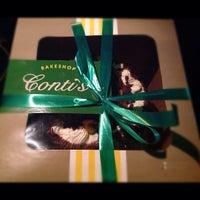Photo taken at Conti's Bakeshop & Restaurant by Gemma-Bryan A. on 10/9/2012