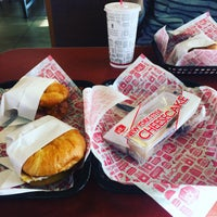 Photo taken at Jack in the Box by Kento T. on 3/9/2018
