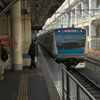Photo taken at Kami-Nakazato Station by Takashi O. on 3/30/2017