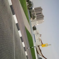 Photo taken at Sharjah Clock Tower by Syed Refaquat Ibna R. on 2/18/2013