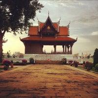 Photo taken at Santichai Prakan Park by Johannes H. on 9/28/2012