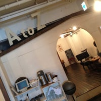 Photo taken at A to Z Cafe by Shu N. on 10/7/2012
