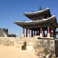 Photo taken at Hwaseong Fortress by Benjamin S. on 11/27/2012